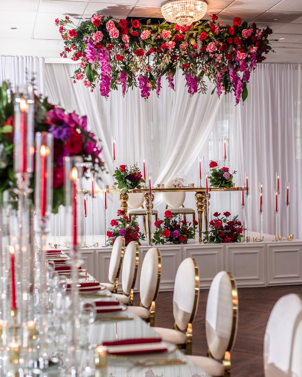 Romantic Renoir Reception Hall